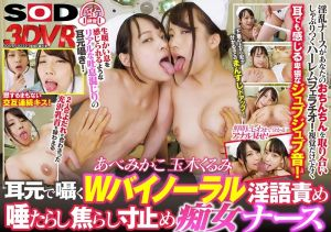 【2】VR 双护士痴女淫语挑逗爽到大爆射 阿部美佳子 玉木久留美 第二集