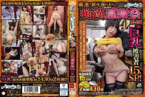 严选新作!痴汉感谢祭 第4弹 『巨乳』被害者15人SP!-上