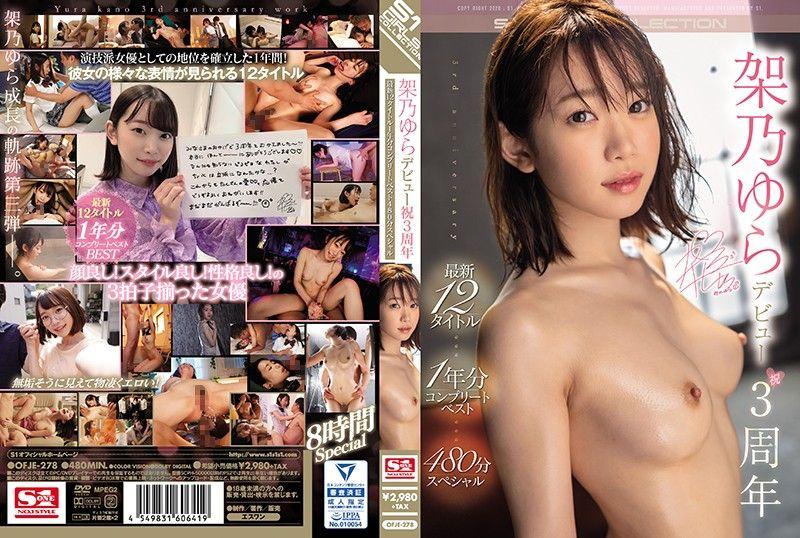 架乃由罗庆祝出道3周年! 最新12作品1年分完整精选480分钟特别编 上