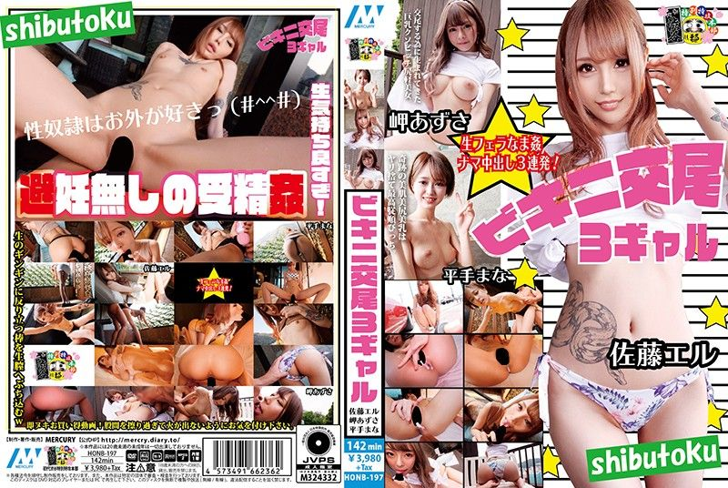 比基尼交尾3辣妹/佐藤惠琉 岬梓 平手真菜