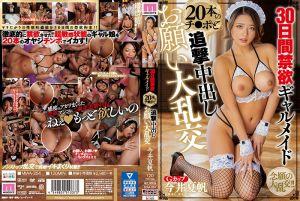 30日间禁欲辣妹女僕与20根肉棒追击中出大乱交 今井夏帆