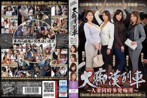 大痴汉列车~同车人妻连发痴汉~ 第二集