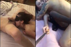 超火辣绿茶婊与刺青男友级品自拍淫荡啪啪A片