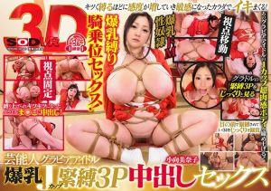 【2】VR J罩杯爆乳偶像紧缚3P肏到中出 第二集