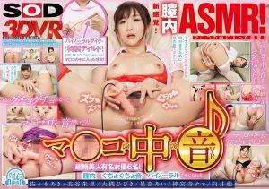 【3】【VR】マ○コの中の音 超絶美人有名女优6名!膣内のぐちょぐちょ音をバイノーラルで感じられる!