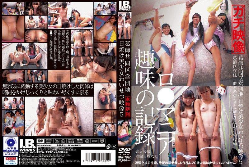 葛饰公有住宅 晒痕美少女猥亵影片 5