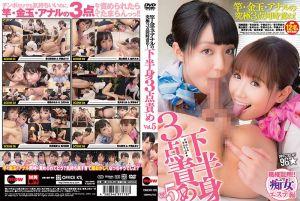 肉棒・睪丸・屁眼究极3处猛攻!Vol.5