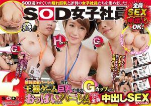 VR SOD女员工国王游戏后宫幹砲!