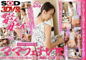 【1】VR 妈妈 青木玲 晨勃肉棒硬插淫乱妈妈还中出 第一集