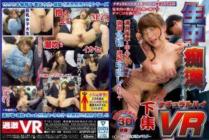 【2】VR 无套中出痴汉 第二集