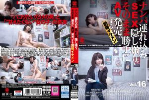 ナンパ连れ込みSEX隠し撮り・そのまま胜手にAV発売。する别格イケメン Vol.16