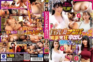 巨乳妻搭讪中出 春药发狂潮吹高潮 Vol.2