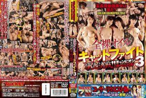 灵长类最强美女到底是谁?DREAM GRANDPRIX2014 全裸精油女子对战3 顶上决战!!冠军嘉年华