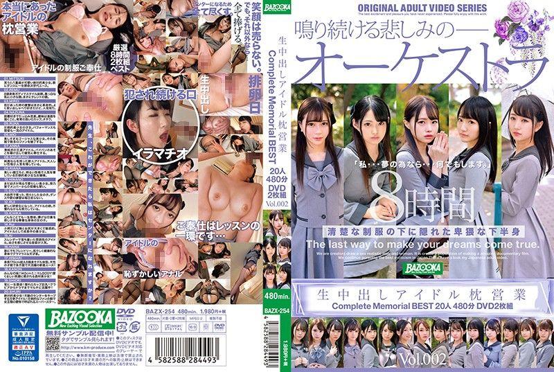 无套中出偶像枕营业 完整纪念精选20人480分DVD2片装 Vol.002 下