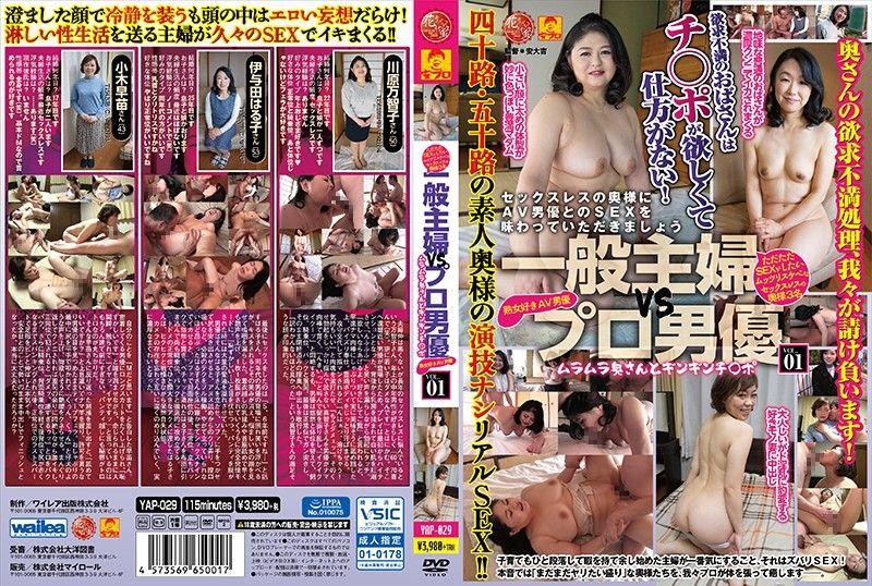 一般主妇vs职业男优 ~火热太太与坚挺肉棒~! VOL.1