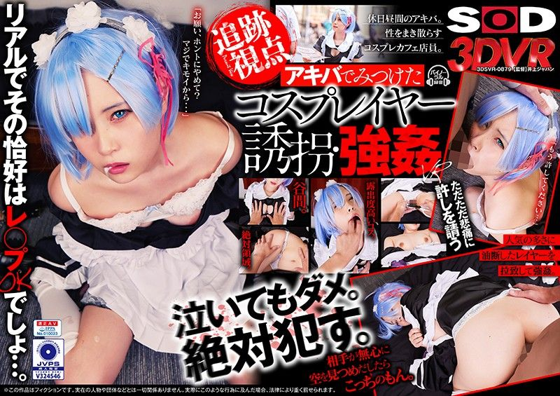 【VR】【追迹视点】秋叶原发现的角色扮演妹子 诱拐・强姦VR 下