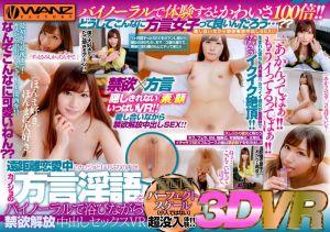【2】VR 相隔一个月再见远距离女友!禁慾解放中出幹砲 关西腔Ver. 第二集